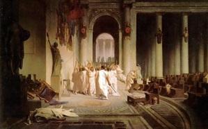La Mort de Cesar - Jean-Léon Gérome (1824-1904)
