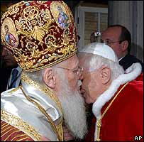 Old Pope and Friend.