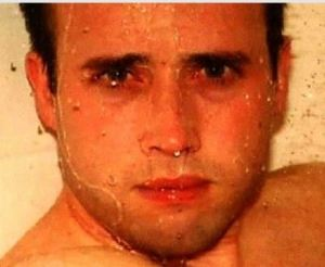 Travis Alexander in shower just before his death.