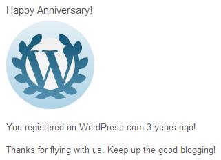 Happy 3 year anniversary to Uppity Woman Blog