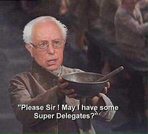 Bernie begs